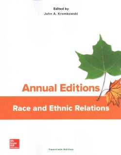 Annual Editions Race and Ethnic Relations (Paperback)