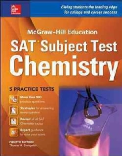 McGraw-Hill Education Sat Subject Test Chemistry (Paperback)