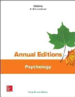 Annual Editions Psychology (Paperback)