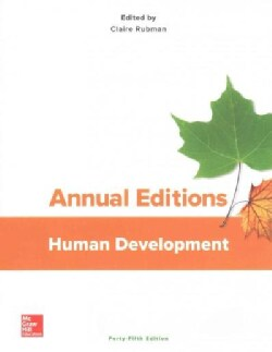 Annual Editions Human Development (Paperback)