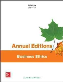 Annual Editions Business Ethics (Paperback)