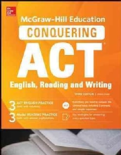 Mcgraw-hill Education's Conquering Act English Reading and Writing (Paperback)