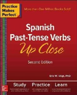 Spanish Past-Tense Verbs Up Close (Paperback)
