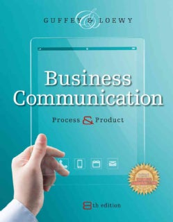 Business Communication: Process & Product (Hardcover)