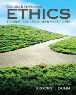 Business & Professional Ethics: For Directors, Executives & Accountants (Paperback)