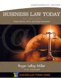 Business Law Today: Text & Cases: Diverse, Ethical, Online, and Global Environment (Hardcover)