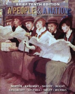 A People & a Nation: A History of the United States (Paperback)