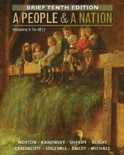 A People & A Nation: To 1877 (Paperback)