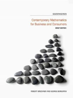 Contemporary Mathematics for Business and Consumers (Paperback)