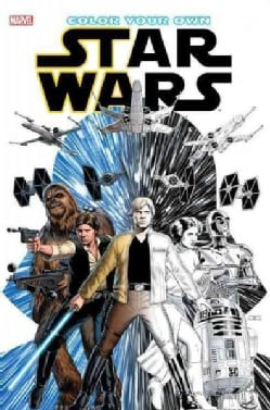 Color Your Own Star Wars (Paperback)