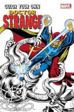 Color Your Own Doctor Strange (Paperback)