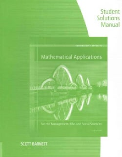 Mathematical Applications for the Management, Life, and Social Sciences (Paperback)