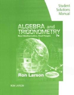 Algebra and Trigonometry: Real Mathematics, Real People (Paperback)