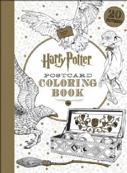 Harry Potter Postcard Coloring Book (Postcard book or pack)