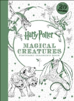 Harry Potter Magical Creatures Postcard Coloring Book (Paperback)