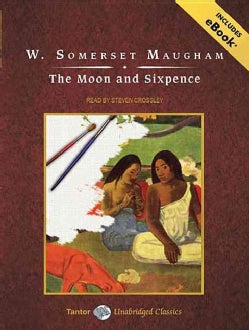 The Moon and Sixpence: Library Edition, Includes eBook (CD-Audio)