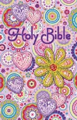 Holy Bible: International Children's Bible Pink Sequin (Paperback)