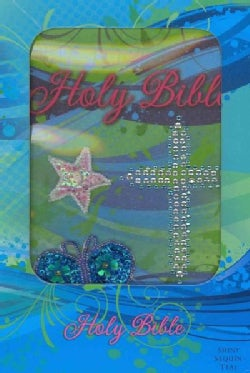 Holy Bible: International Children's Bible Teal Shiny Sequin (Paperback)
