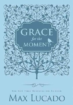 Grace for the Moment: Inspiration For Each Day of the Year - Light Blue Cover (Hardcover)