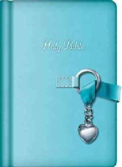The Holy Bible: New King James Version, Blue Leathersoft, Simply Charming (Hardcover)