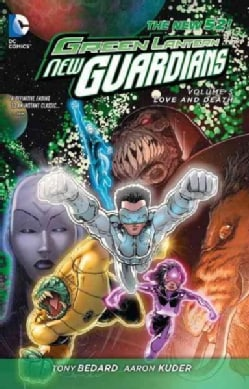 Green Lantern, New Guardians 3: Love & Death (Paperback)