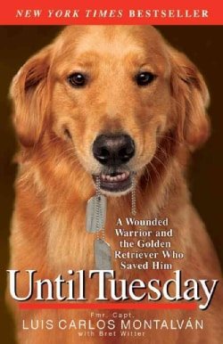Until Tuesday: A Wounded Warrior and the Golden Retriever Who Saved Him (Paperback)