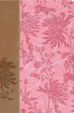 The Woman's Study Bible: New International Version, Pink/Cafe Au Lait Fabric Leathersoft (Paperback)