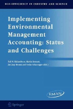 Implementing Environmental Management Accounting: Status And Challenges (Paperback)