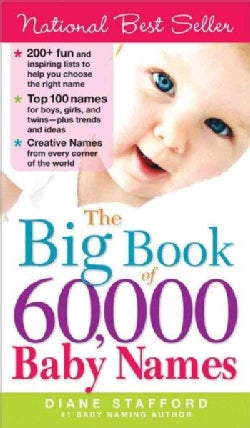 The Big Book of 60,000 Baby Names (Paperback)
