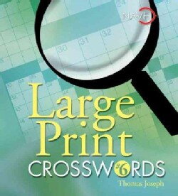 Large Print Crosswords 6 (Paperback)
