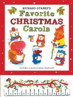 Richard Scarry's Favorite Christmas Carols (Hardcover)