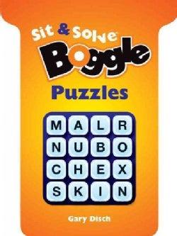 Sit & Solve Boggle Puzzles (Paperback)