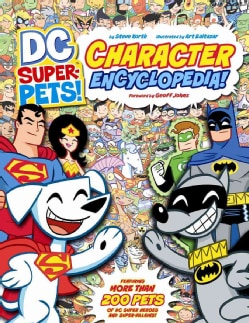 DC Super-Pets Character Encyclopedia (Paperback)