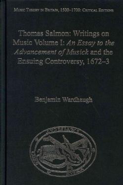 Thomas Salmon: Writings on Music (Hardcover)