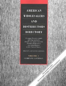 American Wholesalers and Distributors Directory: A comprehensive guide offering industry details on nearly 24,000... (Paperback)