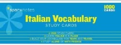 Sparknotes Italian Vocabulary Study Cards (Cards)
