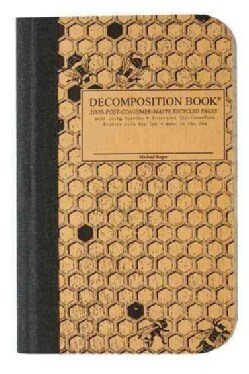 Honeycomb Pocket-size Decomposition Book: College-ruled Composition Notebook With 100% Post-consumer-... (Notebook / blank book)
