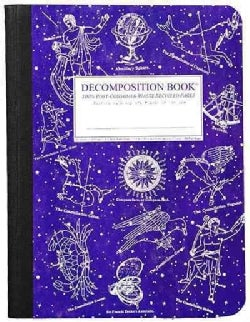 Decomposition Book: Celestial Large Ruled (Notebook / blank book)
