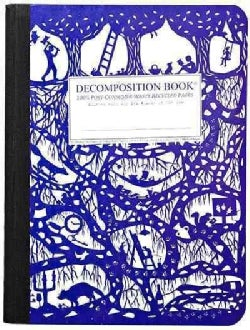 Underground Large Decomposition Ruled Book (Notebook / blank book)