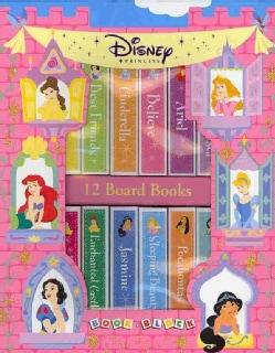 Disney Princess Book Block (Board book)