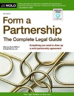 Form a Partnership: The Complete Legal Guide (Paperback)