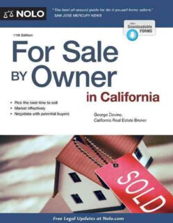 For Sale by Owner in California (Paperback)