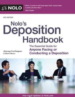 Nolo's Deposition Handbook (Paperback)