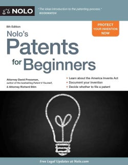 Nolo's Patents for Beginners (Paperback)