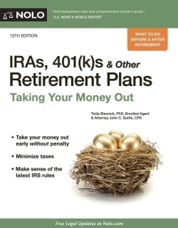 IRAs, 401(k)s & Other Retirement Plans: Strategies for Taking Your Money Out (Paperback)