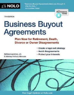 Business Buyout Agreements: Plan Now for All Types of Business Transitions (Paperback)