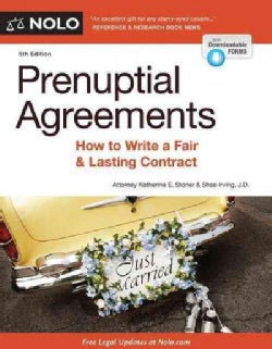 Prenuptial Agreements: How to Write a Fair & Lasting Contract (Paperback)