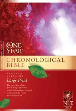 The One Year Chronological Bible: New Living Translation Premium Slimline (Hardcover)