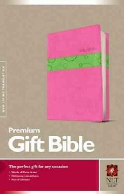 Holy Bible: New Living Translation, Bubble Gum/Pistachio, Tutone Leatherlike, Premium Gift Bible (Paperback)