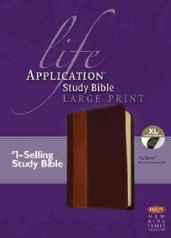 Life Application Study Bible: New King James Version, Brown / Tan TuTone, LeatherLike (Paperback)